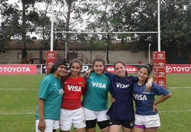 Cinco Santiagueñas en la concentración Nacional Juvenil