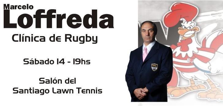 Marcelo Loffreda brindará charlas en el Santiago Lawn Tennis